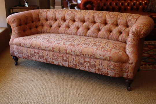 Victorian 'Ibsen' Antique Sofa