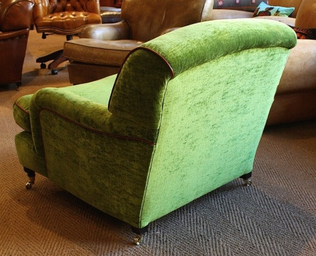 Velvet Lansdown Chair