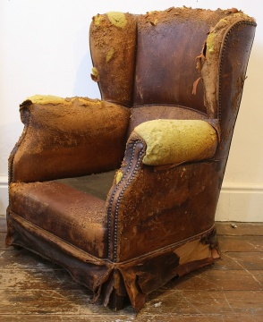Early 20th Century French Club Chair