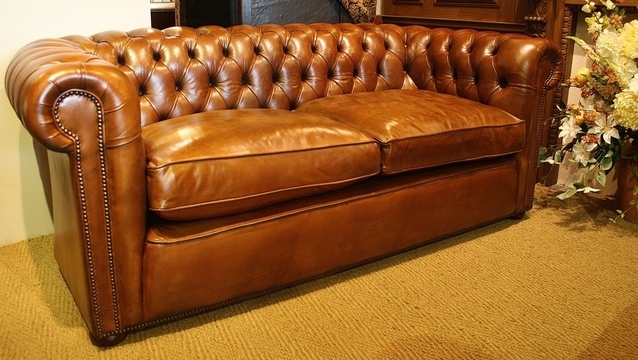 The Two-Seater Chesterfield Sofa