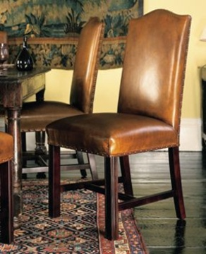 The Dining Chair in Leather