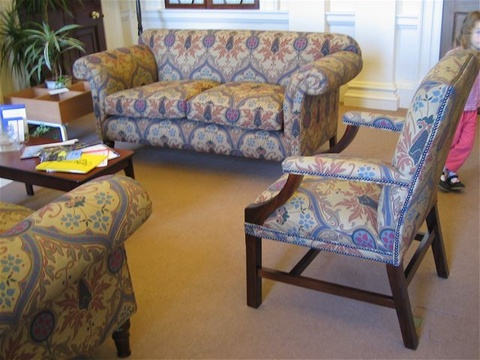 The Gainsborough Chair in Fabric