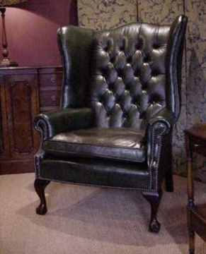 Leather Chairs Of Bath Chelsea Design Quarter Leather Wing