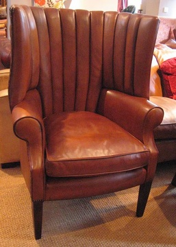 The Library Chair in Leather