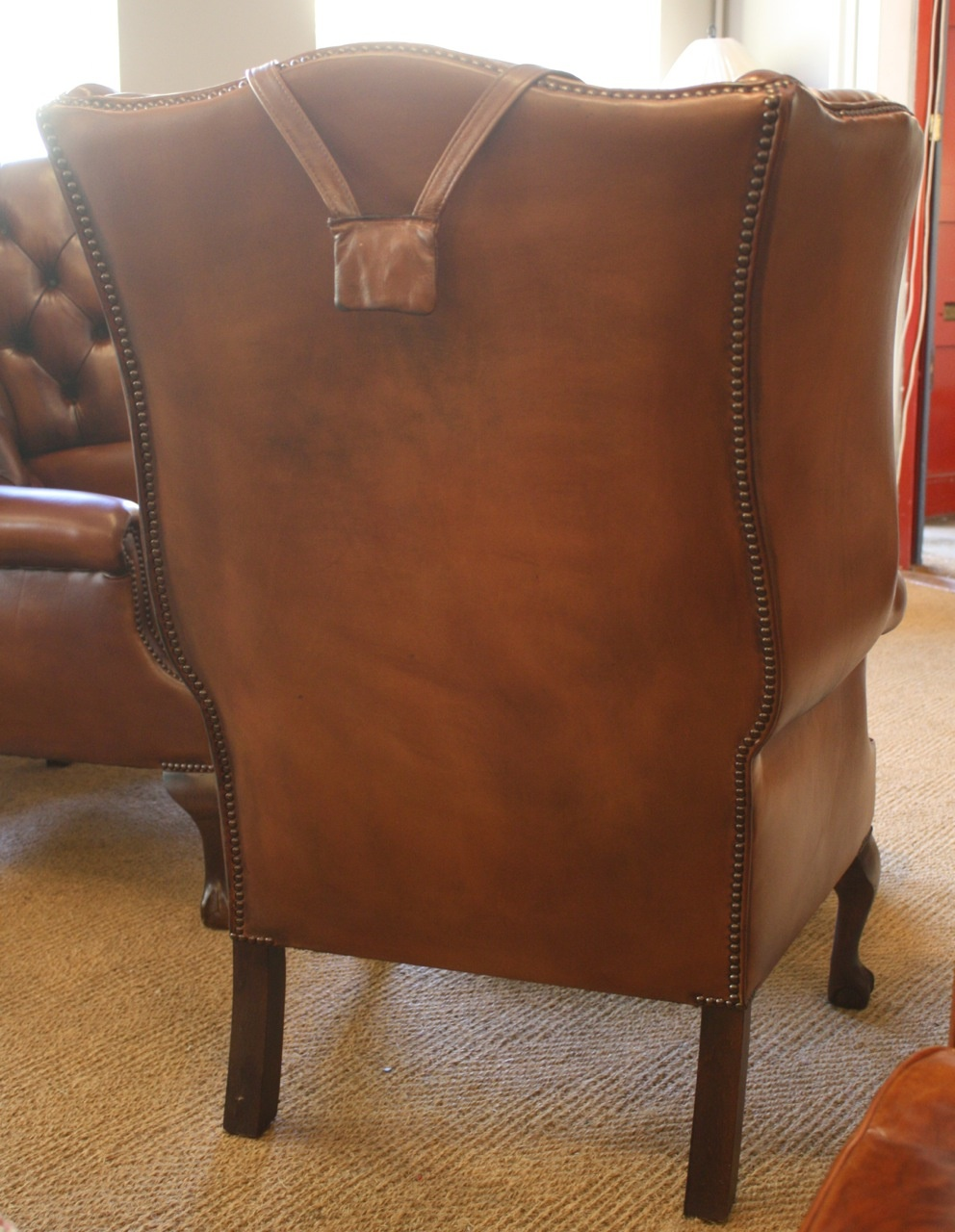 Leather Chairs Of Bath Bespoke Pair Of Georgian Leather