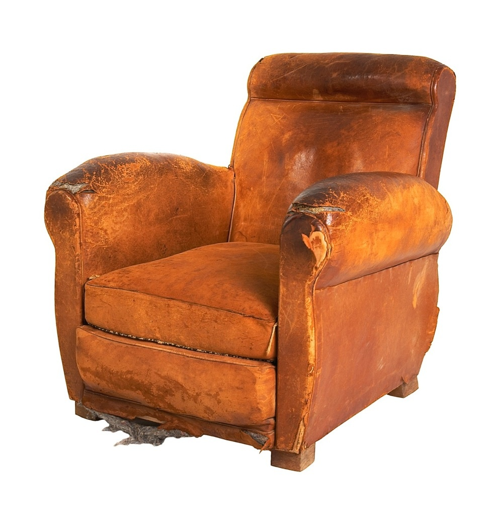 Superieur ... Leather French Club Chair