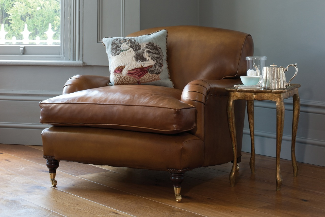 Leather Chairs Of Bath Leather Howard Chair Tan Leather