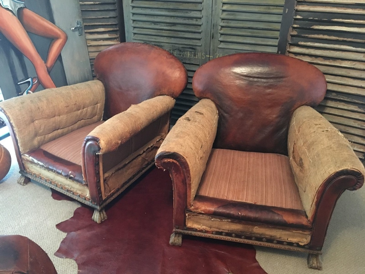 Excellent Pair Of Leather Club Chairs Leather Chairs Of Bath Leather Pdpeps Interior Chair Design Pdpepsorg