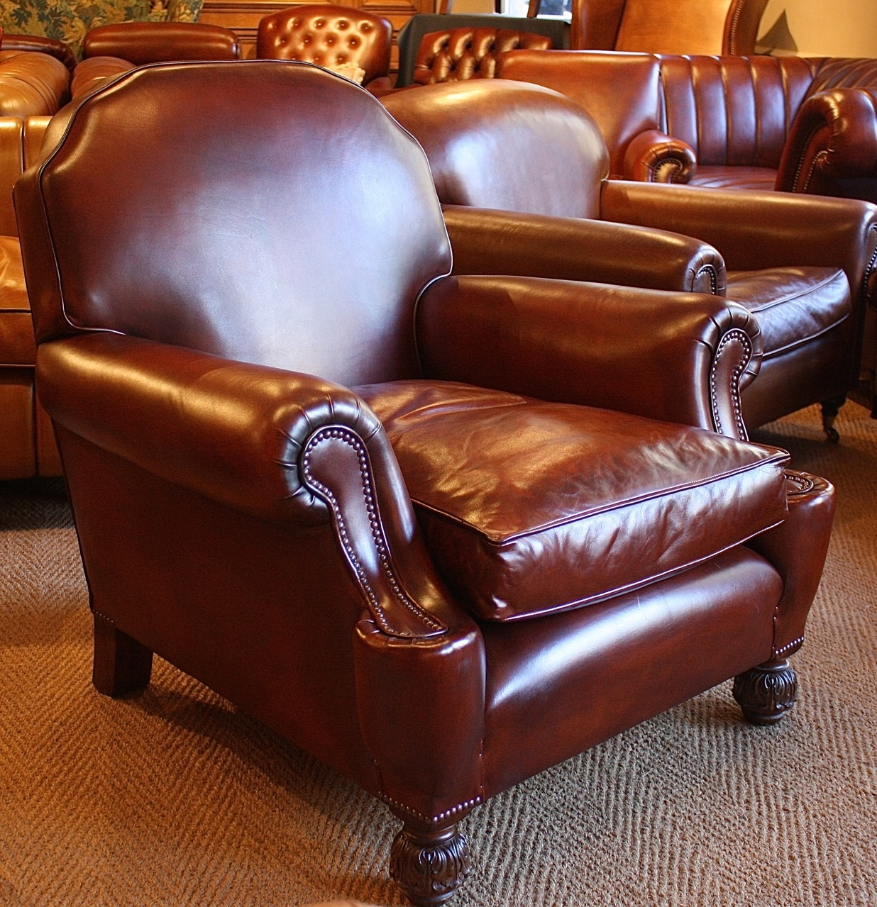 large edwardian leather club chair leather chairs of bath vintage
