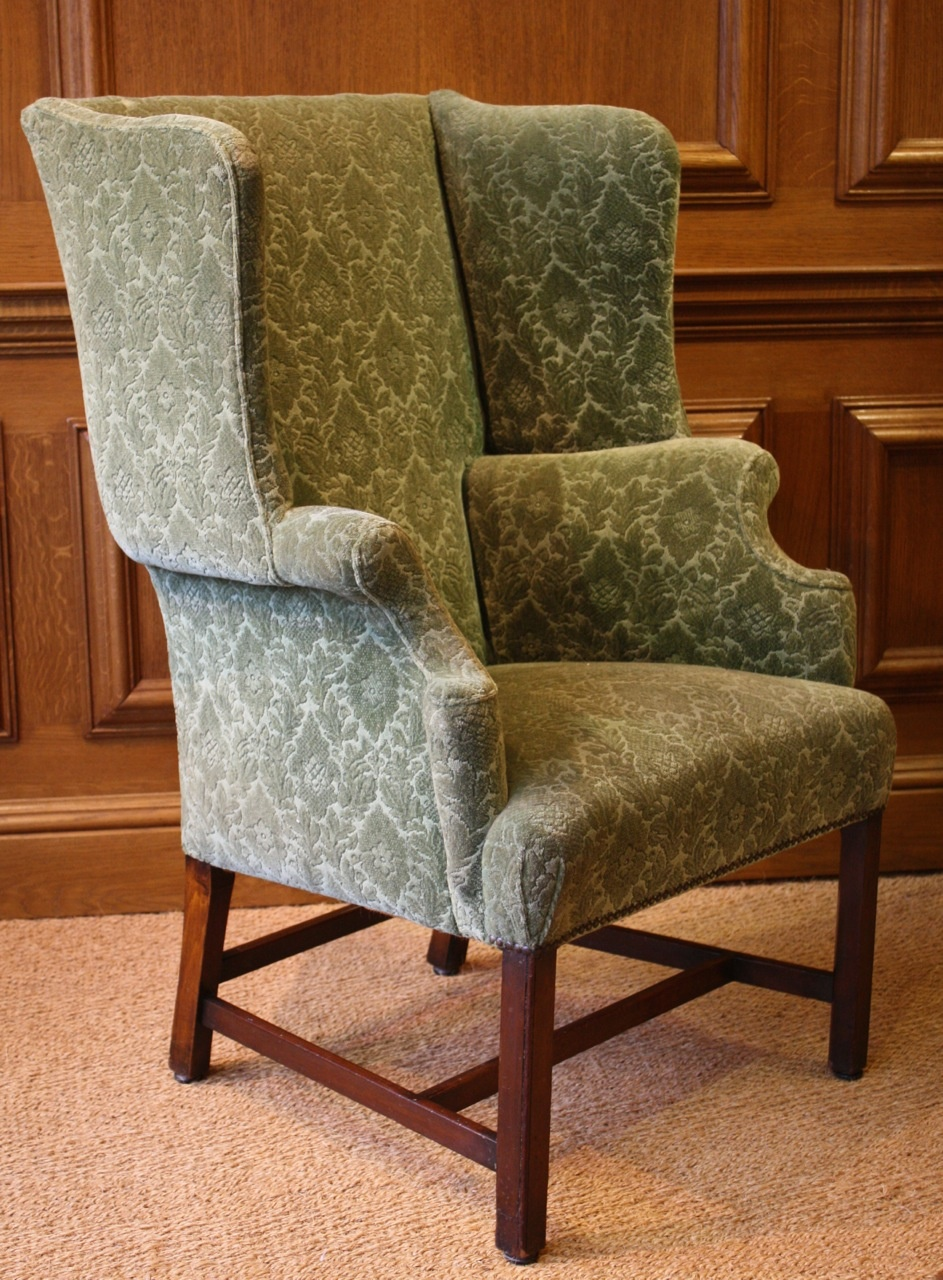 Leather Chairs Of Bath Antique Wing Chair Chelsea Design