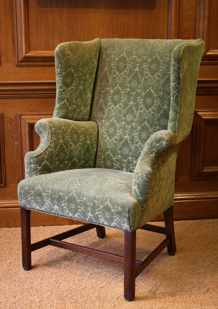 Antique Wing Chair ... & Leather Chairs of Bath Antique Wing Chair Chelsea Design Quarter ...