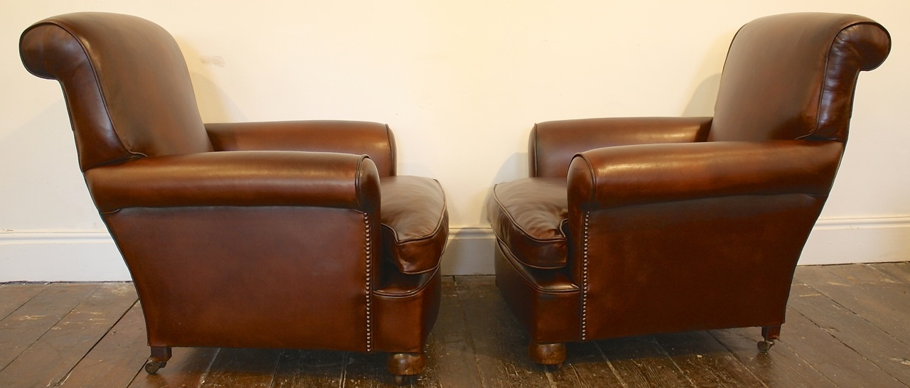 Traditional Leather Club Chairs At Leather Chairs Of Bath