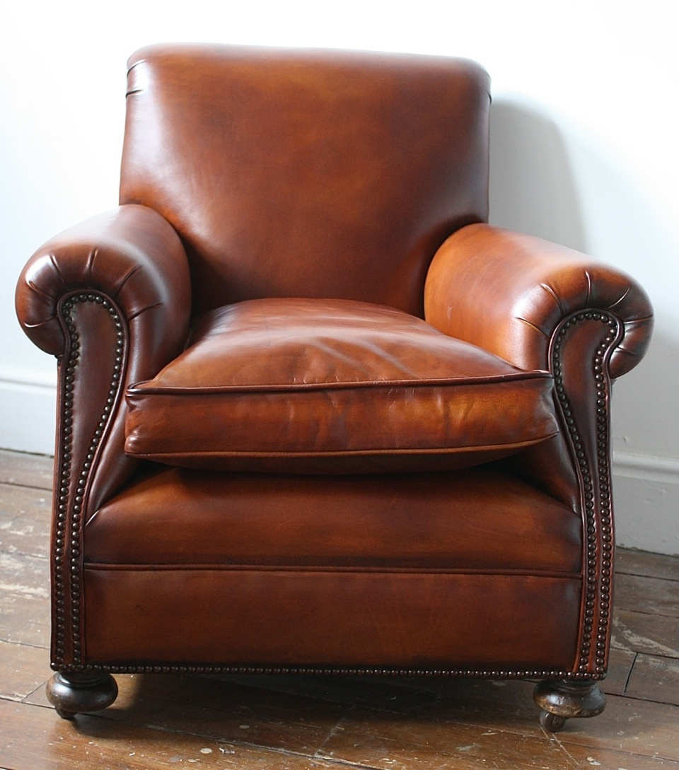 restored s english club chair. restored s english club chair  leather chairs of bath