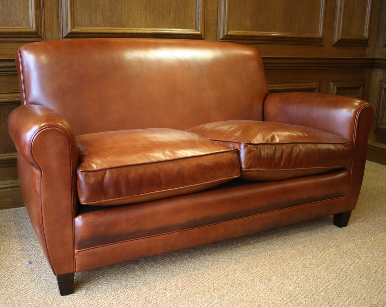 French Leather Sofa Siege En Cuire Siege Francais 20th Century Leather Sofa Leather Chairs