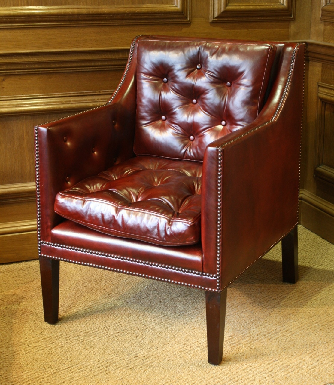 Admiral Horatio Lord Nelson Leather Chair Hms Victory