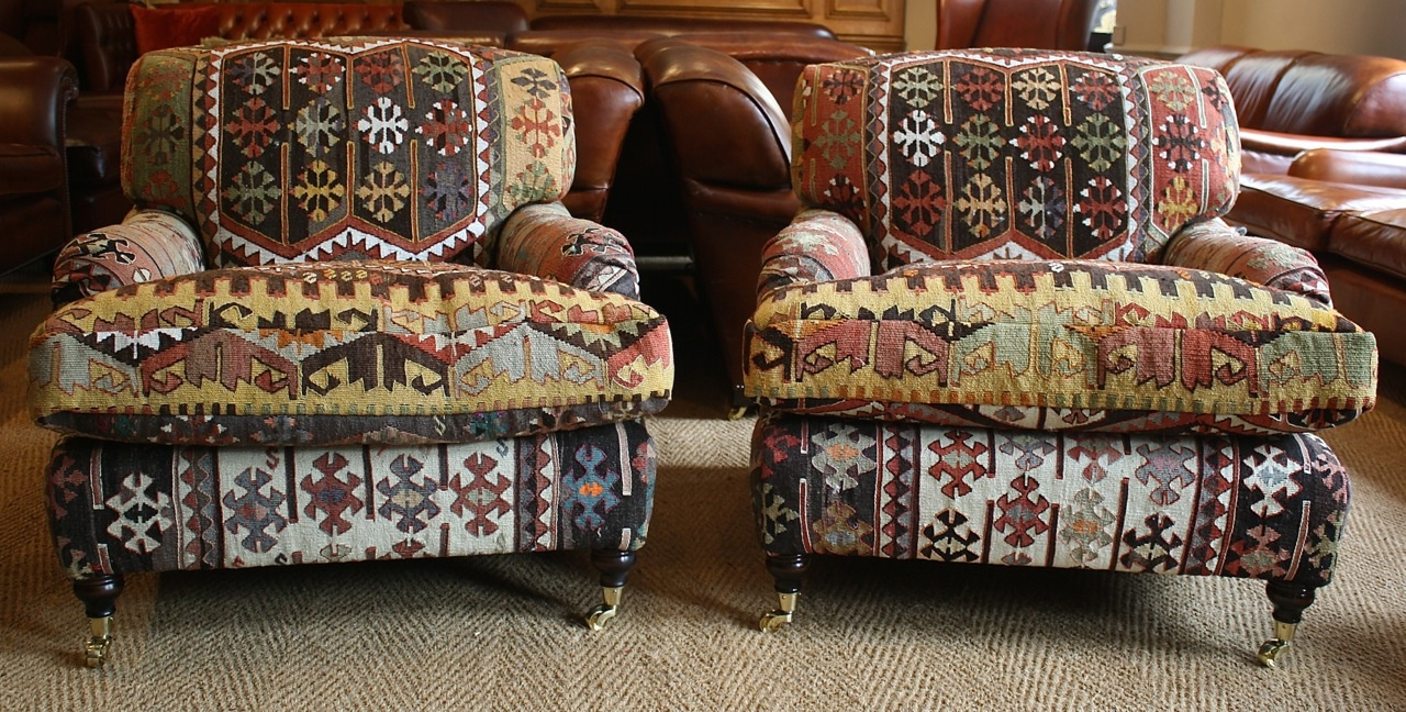 leather chairs of bath istanbul kilim lansdown pair of chairs