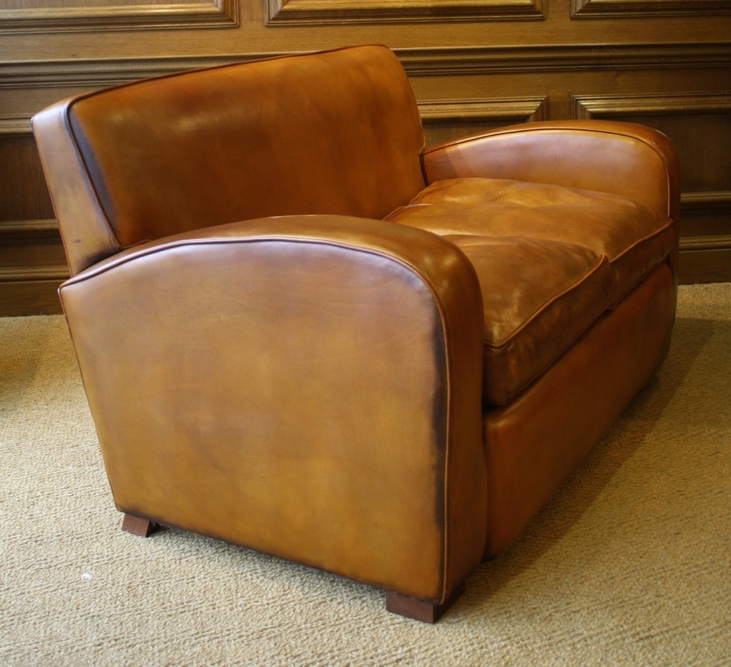 Surprising Two Seater Leather Odeon Sofa Leather Club Sofa Leather Evergreenethics Interior Chair Design Evergreenethicsorg