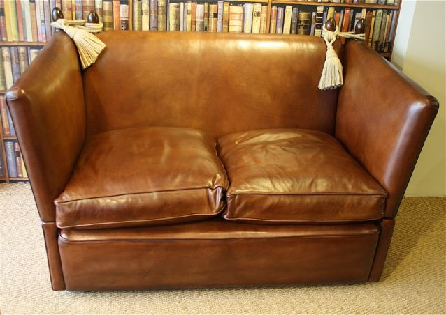Delicieux The Two Seater Knole Sofa In Leather ...
