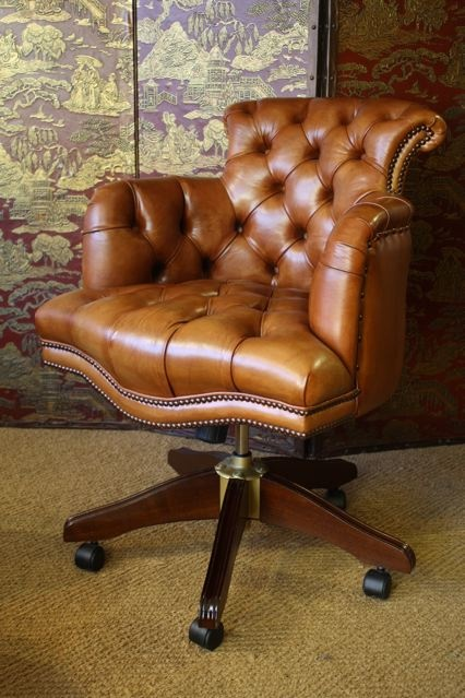 leather desk chair leather captain s desk chair leather chairs of