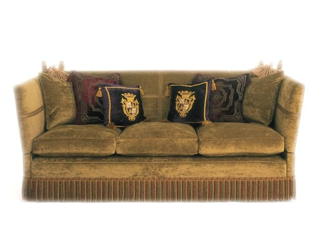The Three Seater Knole Sofa In Fabric ...