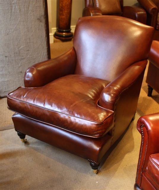 Leather Chairs Of Bath Oxford Leather Study Chair