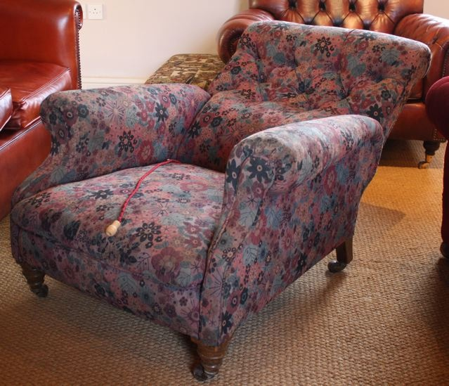 Antique Reclining Armchair; Antique Reclining Armchair ... - Antique Reclining Armchair Leather Chairs Of Bath Antique And