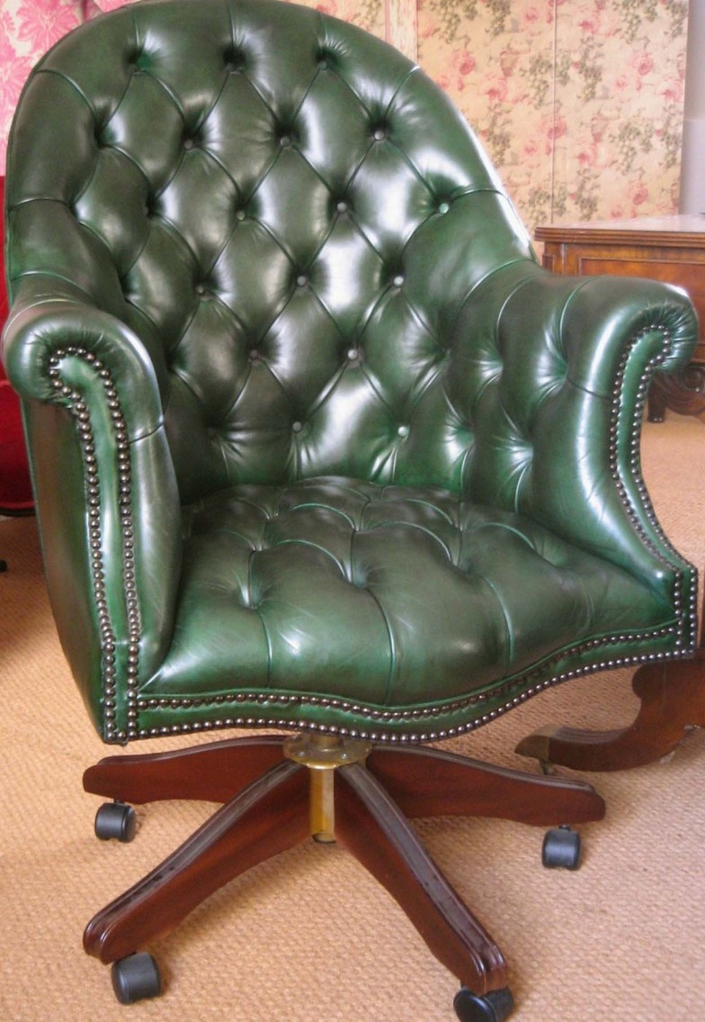 Leather Desk Chair Leather Directors Chair Leather