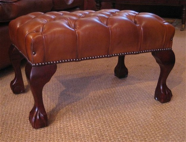 Leather Chairs Of Bath Wide Leather Wing Chair With Claw