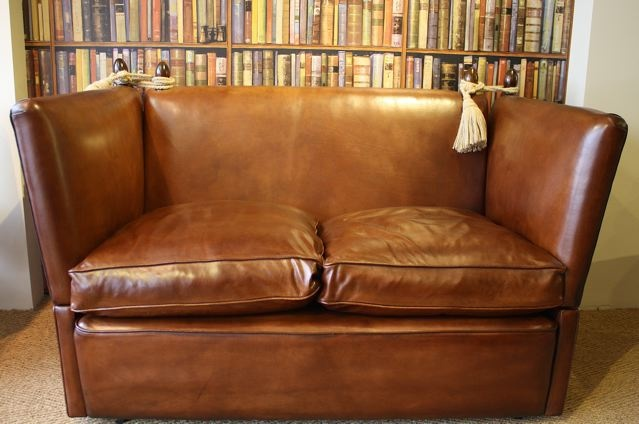 The Two Seater Knole Sofa In Leather ...