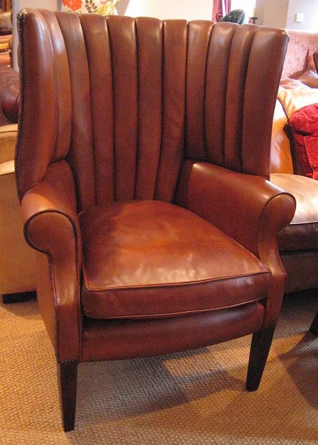 The Library Chair In Leather ...