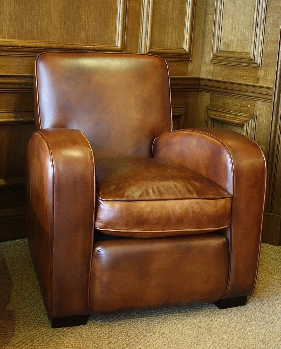 Leather Odeon Chair 1930s Leather Chair Leather Chairs