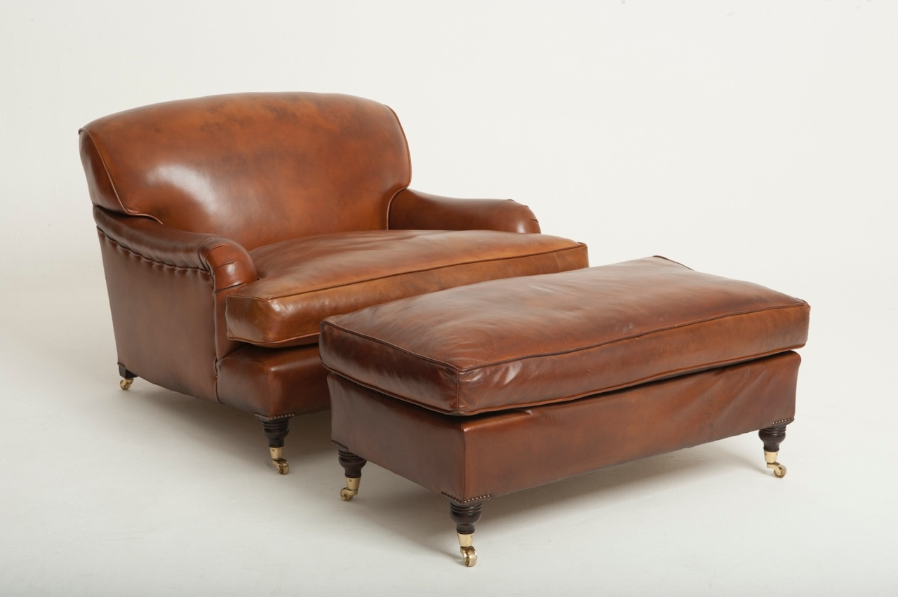 Snuggler Leather Lansdown Chair Chelsea Design Quarter