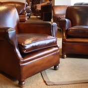 Pair of Late 1930's Club Chairs