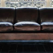 The Three-Seater Lansdown Sofa in Leather