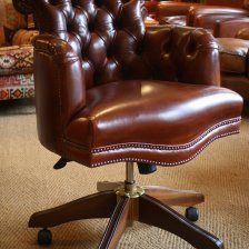 Leather Captain's Chair