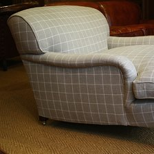 The Snuggler Lansdown Chair in Fabric