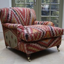 Single Kilim Lansdown Chair