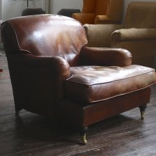 Vintage Leather Lansdown Chair