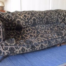 Antique Damask Chesterfield