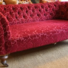 19th Century Victorian Chesterfield  for restoration