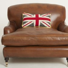 The Snuggler Lansdown Chair in Leather