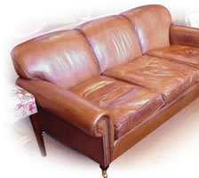 Full Scroll Three-Seater Lansdown Sofa