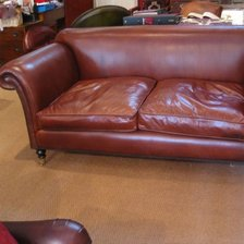 The Two and a half Seater Ibsen Sofa in Leather