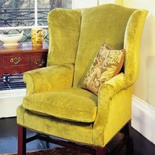 The Georgian Wing Chair in Fabric