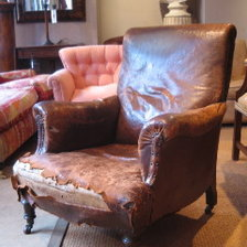 Victorian Leather Chair