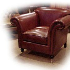 The Ibsen Chair in Leather