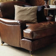 The Lansdown Chair in Leather