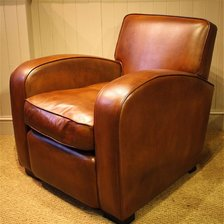 Odeon Chair in Leather