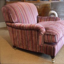 The Lansdown Chair in Fabric