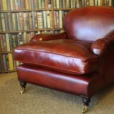 Antique Red Lansdown Chair